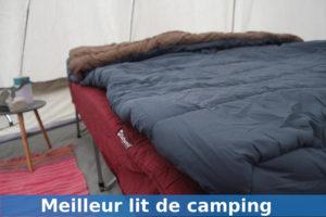 Meilleur lit de camping guide achat et avis
