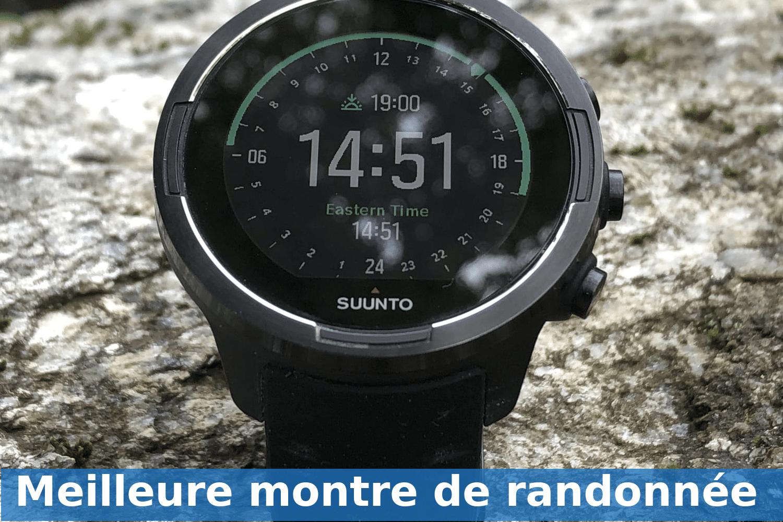 Photo of Meilleure montre de randonnée 2019