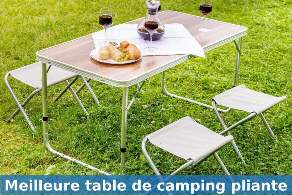 meilleure table de camping pliante comparatif guide achat avis
